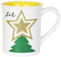 Our Name Is Mud 6004643 Xmas Tree Glitter Mug