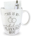 Our Name Is Mud 6005718 Wedding Planner Notebook and Mug