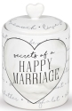 Our Name Is Mud 6005719 Happy Marriage Paper and Jar