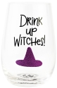 Our Name Is Mud 6006764 Drink Up Witches Wine Glass