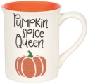 Our Name Is Mud 6006767 Halloween Glitter Pumpkin Mug