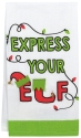 Our Name Is Mud 6006773 Express Your Elf Tea Towel