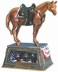 Trail of Painted Ponies 12212 Fallen Heroes Memorial