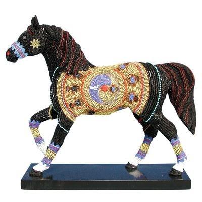 Trail of Painted Ponies 12254 Navajo Black Beauty