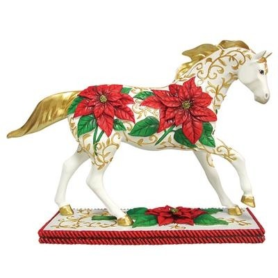 Trail of Painted Ponies 12257 Poinsettia Pony