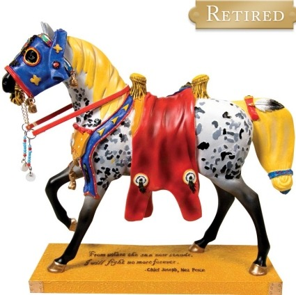 Trail of Painted Ponies 12280TRP Runs the Bitterroot Figurine