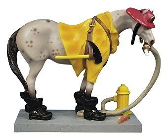 Trail of Painted Ponies 1453 Fireman Pony