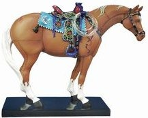 Trail of Painted Ponies 1473 Happy Trails