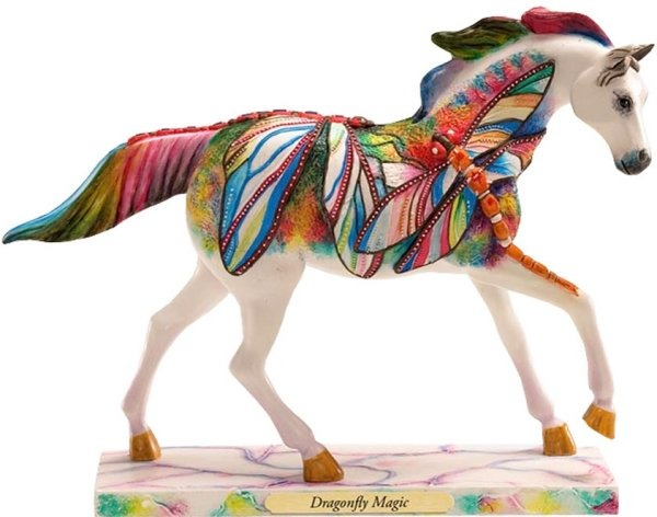 Trail of Painted Ponies 4018390 Dragonfly Magic Figurine