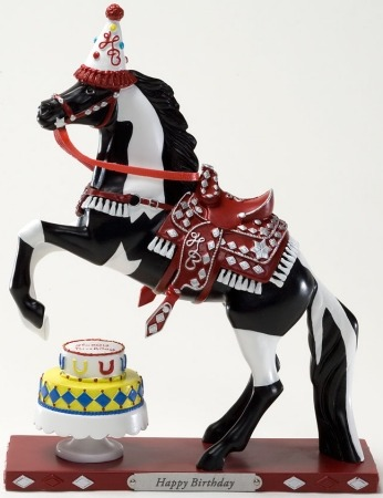 Trail of Painted Ponies 4021412 Happy Birthday Figurine