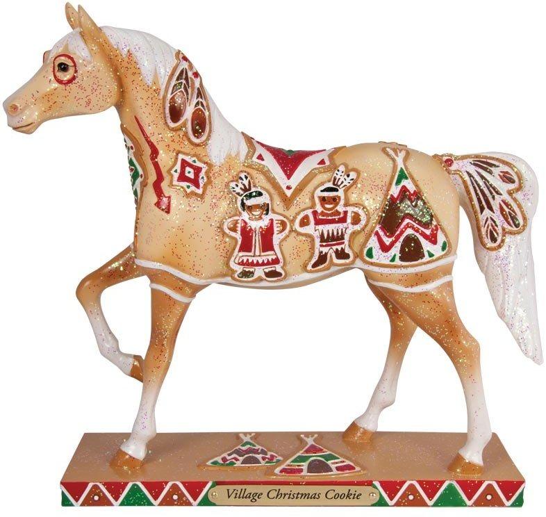 Trail of Painted Ponies 4027279 Village Christmas Cookie Figurine