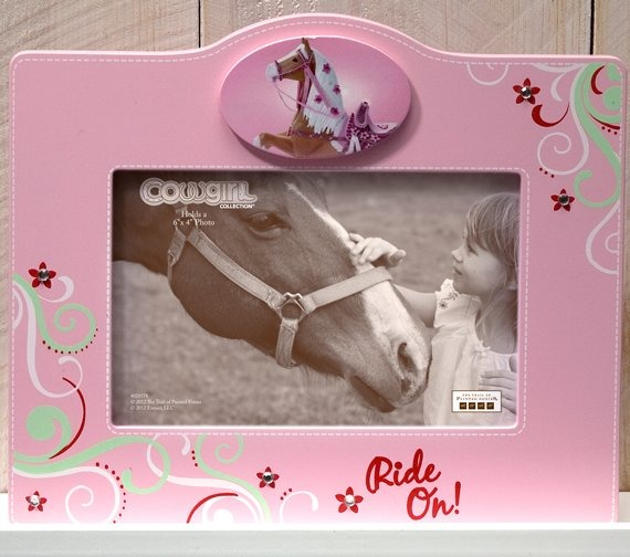 Trail of Painted Ponies 4028578 Cowgirl Photo Frame