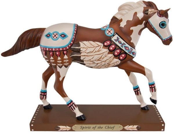 Trail of Painted Ponies 4030251 Spirit of the Chief Figurine