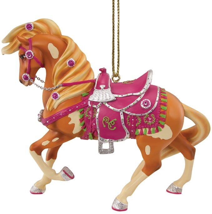 Trail of Painted Ponies 4040984 Rhinestone Cowgirl Horse Ornament
