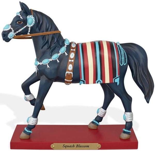 Trail of Painted Ponies 4046326 Squash Blossom Horse Figurine
