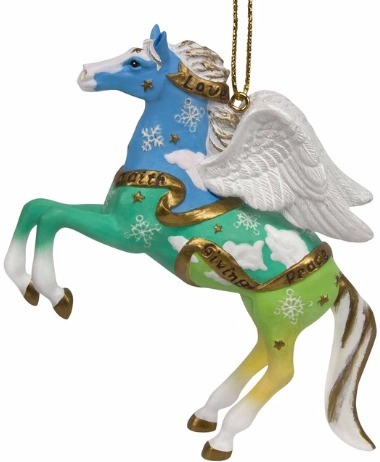 Trail of Painted Ponies 4046341 Guardian Angel Horse Ornament