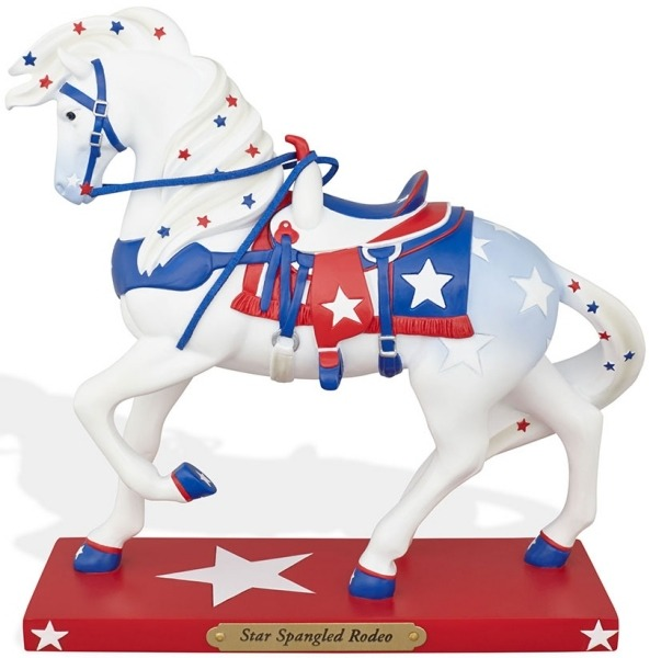 Trail of Painted Ponies 4046344 Star Spangled R Horse Figurine