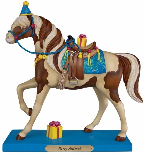 Trail of Painted Ponies 4049717 Party Animal Horse Figurine