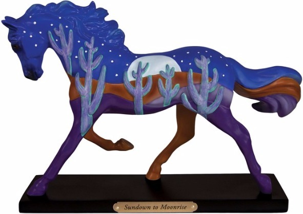 Trail of Painted Ponies 4053786 Sundown to Moonlight Horse Figurine
