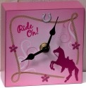 Trail of Painted Ponies 4031687 Cowgirl Clock