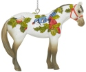 Trail of Painted Ponies 6007470N Winter Feathers Ornament