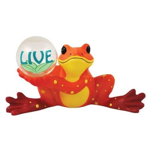 Peace Frogs 18847 Live Frog Figurine