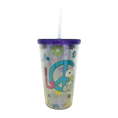 Special Sale 24462 Peanuts 24462 Love Cup Acrylic Tumbler 16 oz