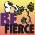 Special Sale 24435 Peanuts 24435 Be Fierce Canvas Wall Art 8x8