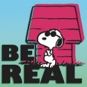 Special Sale 24437 Peanuts 24437 Be Real Canvas Wall Art 8x8