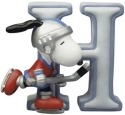 Peanuts by Westland 8578 Snoopy Figurine Letter H Figurine