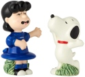 Peanuts Ceramics 6001032 Lucy and Snoopy Salt and Pepper Shakers