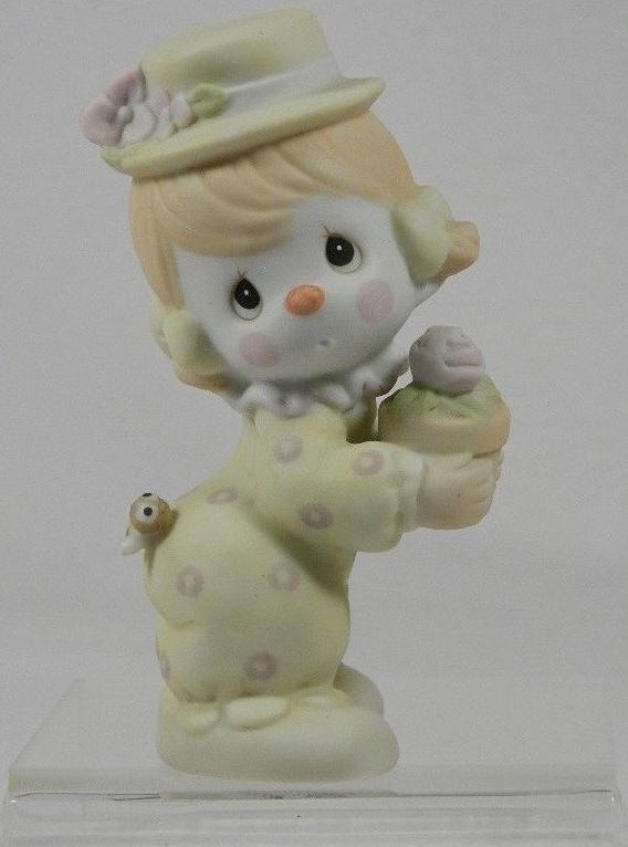 Precious Moments 12238B Mini Clown Girl Figurine