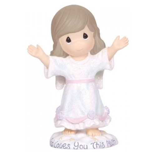 Special Sale 124403 Precious Moments 124403 Angel With Raised Arms Figurine
