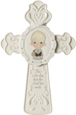 Precious Moments 153403 Communion Boy Cross