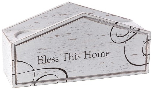 Precious Moments 173428 Bless This Home Candle Display