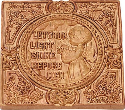 Precious Moments 179104 Let Your Light Shine Before Men Plaque