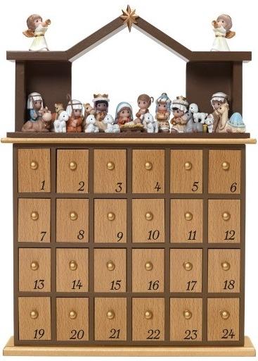 Special Sale 181402 Precious Moments 181402 Nativity 26 Advent Calendar Set of 26