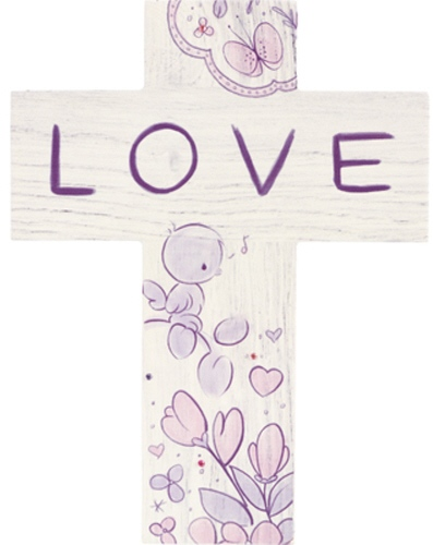 Precious Moments 182411 Confirmation Cross