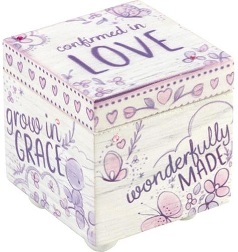 Precious Moments 182413 Confirmation Covered Box