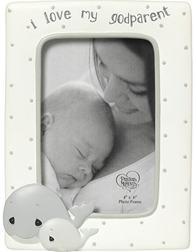 Precious Moments 183408 Whale Godparent Photo Frame