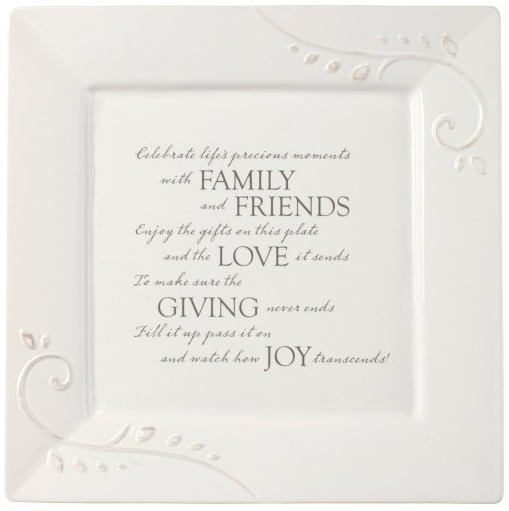 Precious Moments 189002 Giving Plate