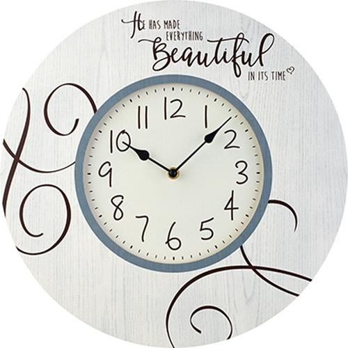 Precious Moments 189916 Everything Beautiful Wall Clock