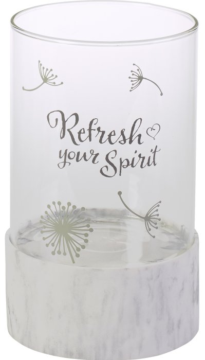 Precious Moments 191474 Refresh Your Spirit Hurricane Candleholder