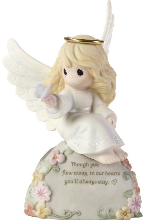 Precious Moments 192003 Girl Angel Bereavement Figurine