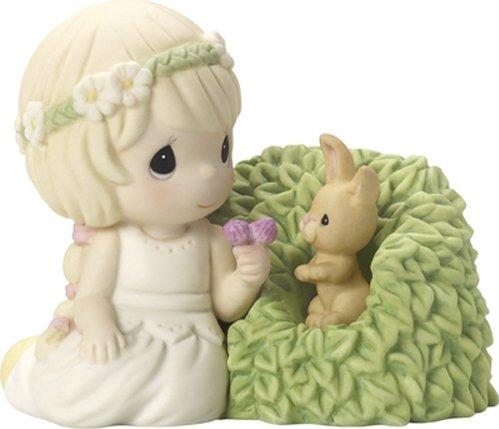 Precious Moments CC179001 2017 Collector's Club IG Kit Girl with Bunny Figurine