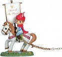 Precious Moments 104402 Disney Birthday Parade Prince Phillip on Horse w Banner Figurine