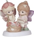 Precious Moments 131042 Girl and Boy with Bag of Toys Figurine