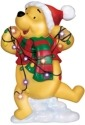Precious Moments 131707 Disney Pooh Tangled In Lights LED Plaque