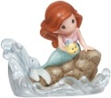 Precious Moments 132005 Disney Ariel Seated on Rock Figurine