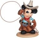 Precious Moments 132708 Disney Cowboy Mickey Figurine